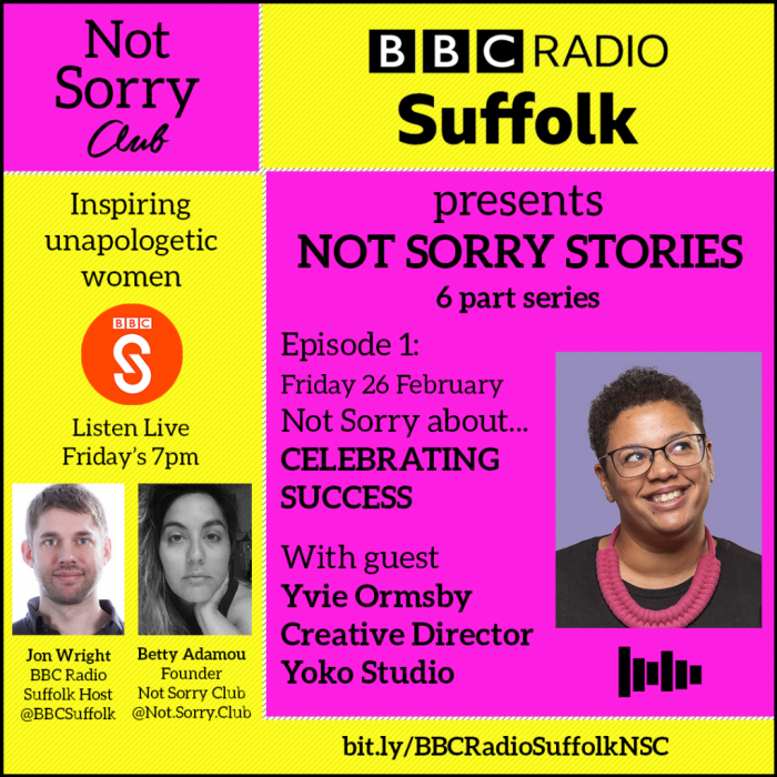 EPISODE1__YVIE ORMSBY BBC 6 part series Not Sorry Club Radio _Not Sorry Club 2021