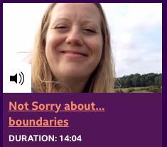 Vicki Harris Episode 5 Not Sorry Stories BBC Radio Suffolk